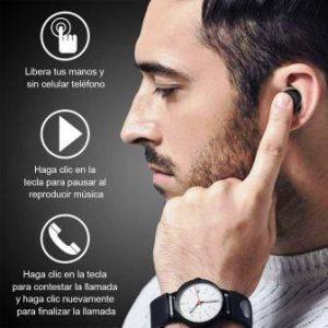 homscam auriculares inalámbricos qcy bluetooth